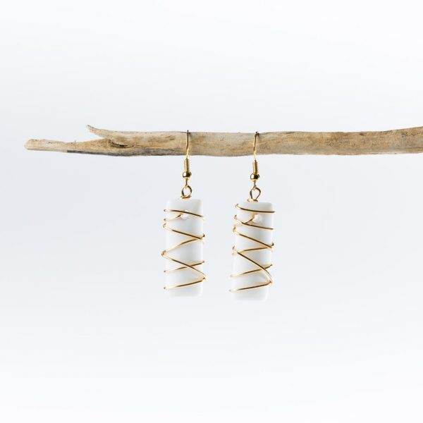 Opaque-White-Gold-Twisted-Argentine-Seas-Earrings