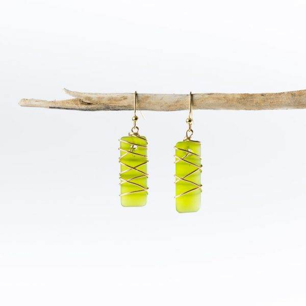 Olive-Gold-Twisted-Argentine-Seas-Earrings