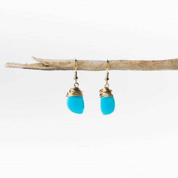 Teal-Gold-Small-Ocean-Eclipse-Earrings