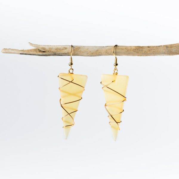 Desert-Gold-Gold-Large-Tipped-At-Sea-Earrings