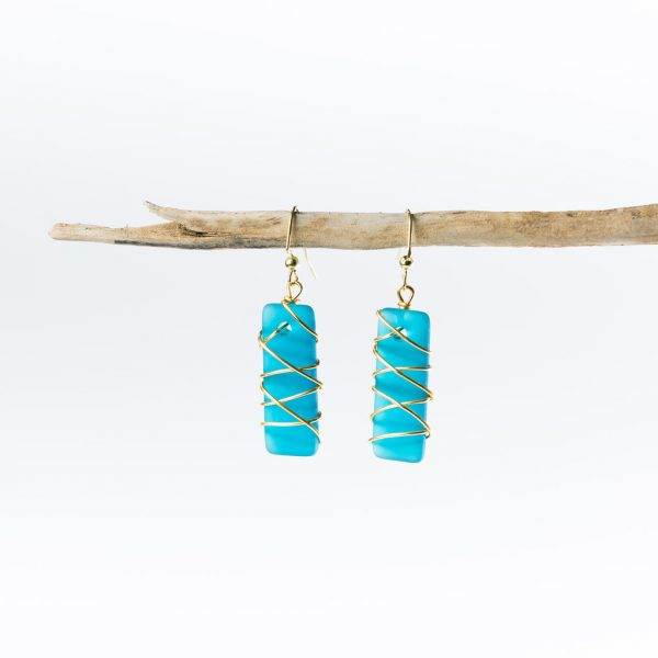 Teal-Gold-Twisted-Argentine-Seas-Earrings
